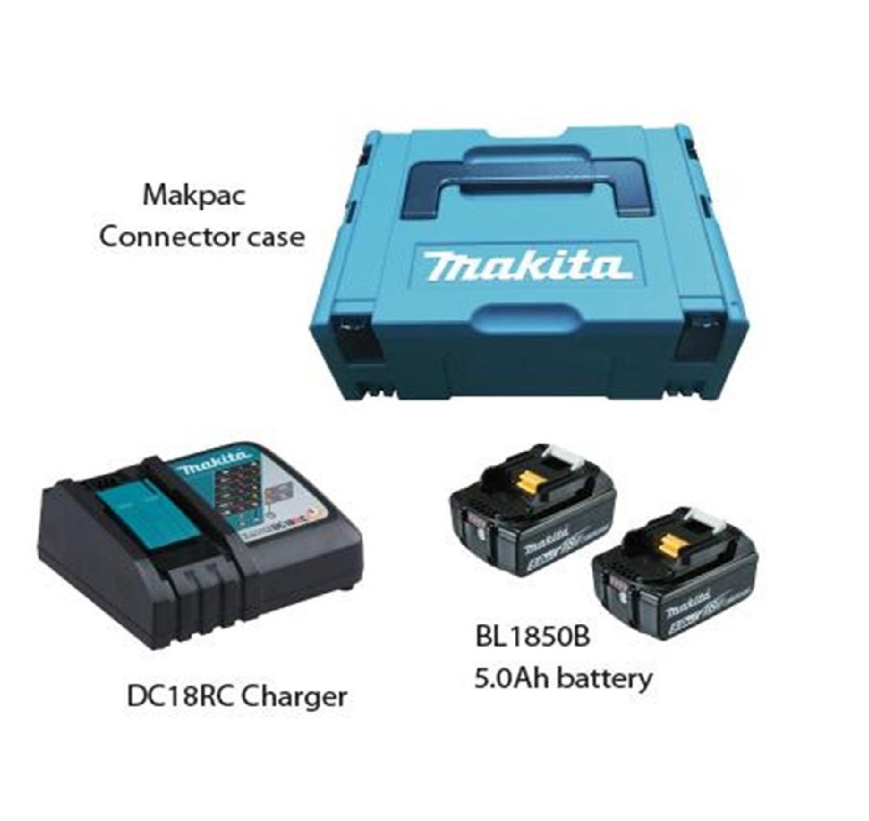 Makita MKP1RT182, (197803-2) Makpac Power Source Kit (5.0Ah)