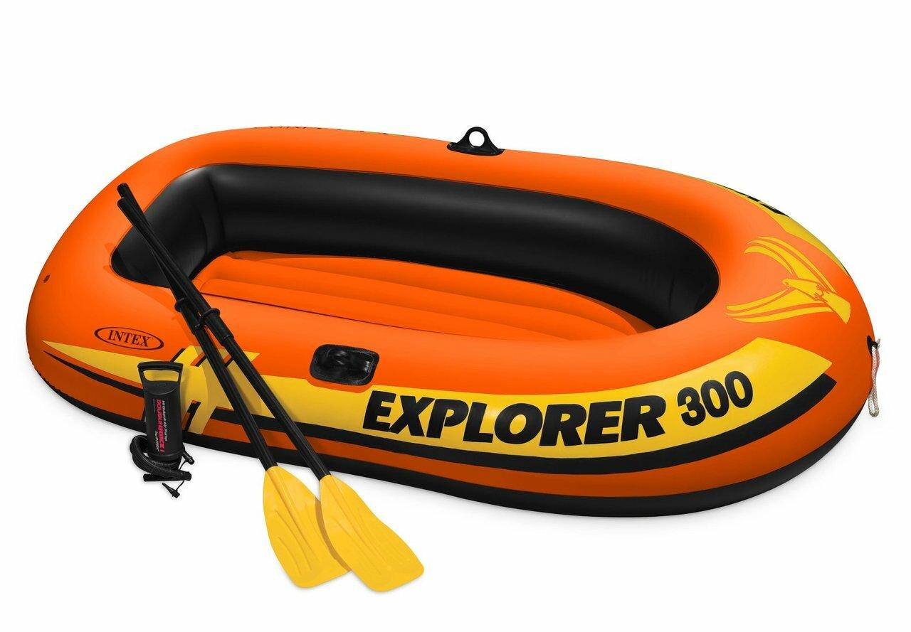 Intex 58332 Explorer 300 Boat Set