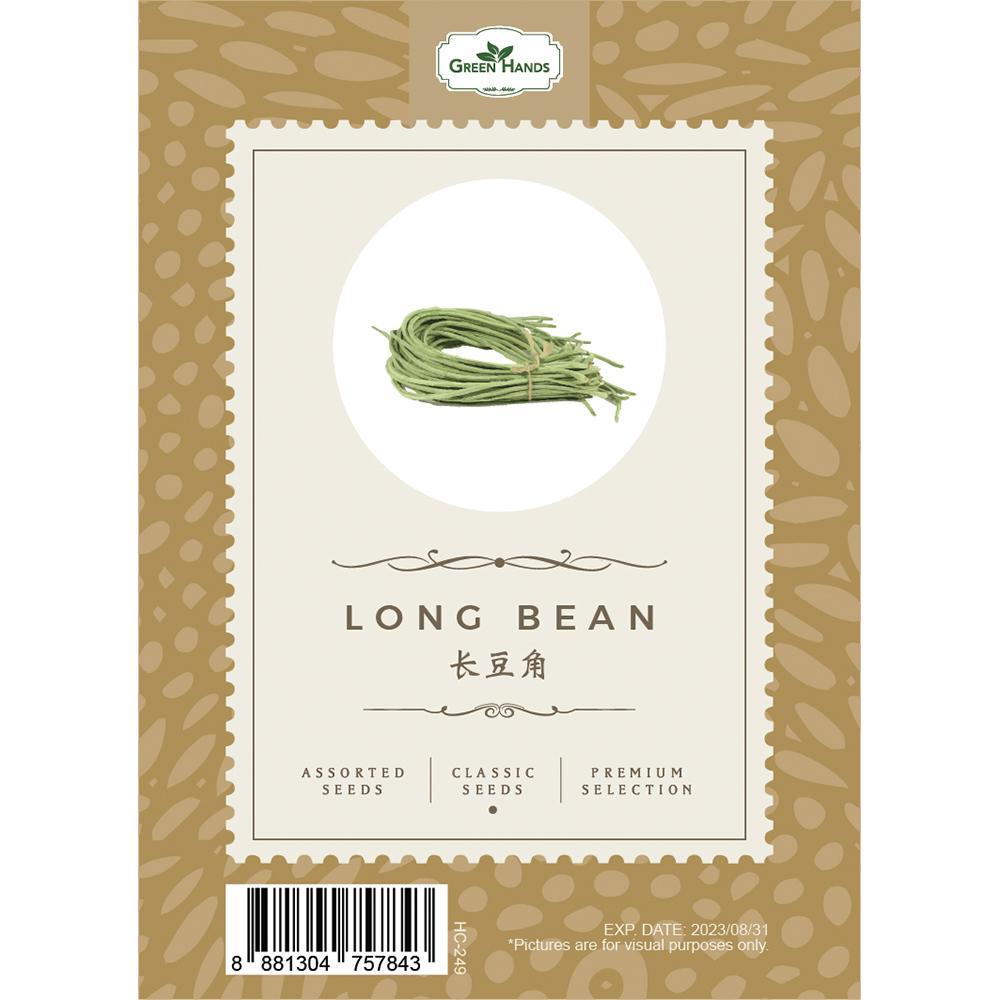 Green Hands Assorted Seeds - Long Bean