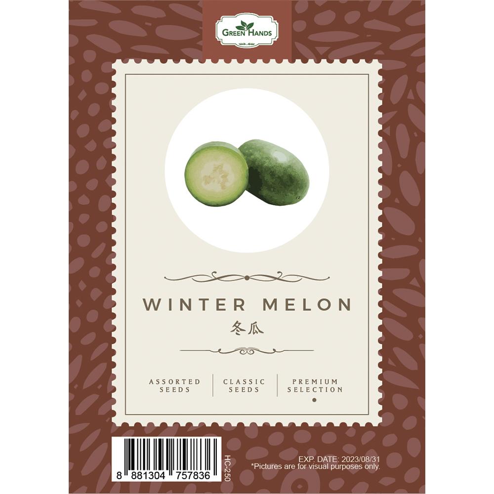 Green Hands Assorted Seeds - Wintermelon